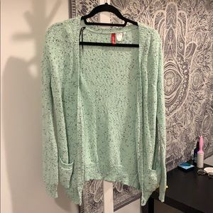 Tops - Mint and black sweater